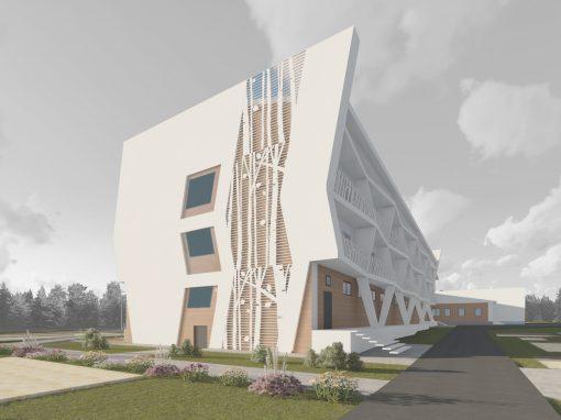 Реконструкция санатория OZONE, г. Сарапул